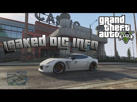 GTA V Online: LEAKED DLC INFO - PINK SLIPS, CASINOS, DRUG DEALING, ...