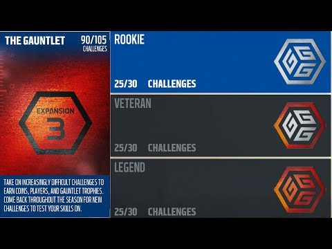 Gauntlet Expansion 3 Reward Pack Opening | Free 91 Zone Strong Saftey & Offensive Elites |