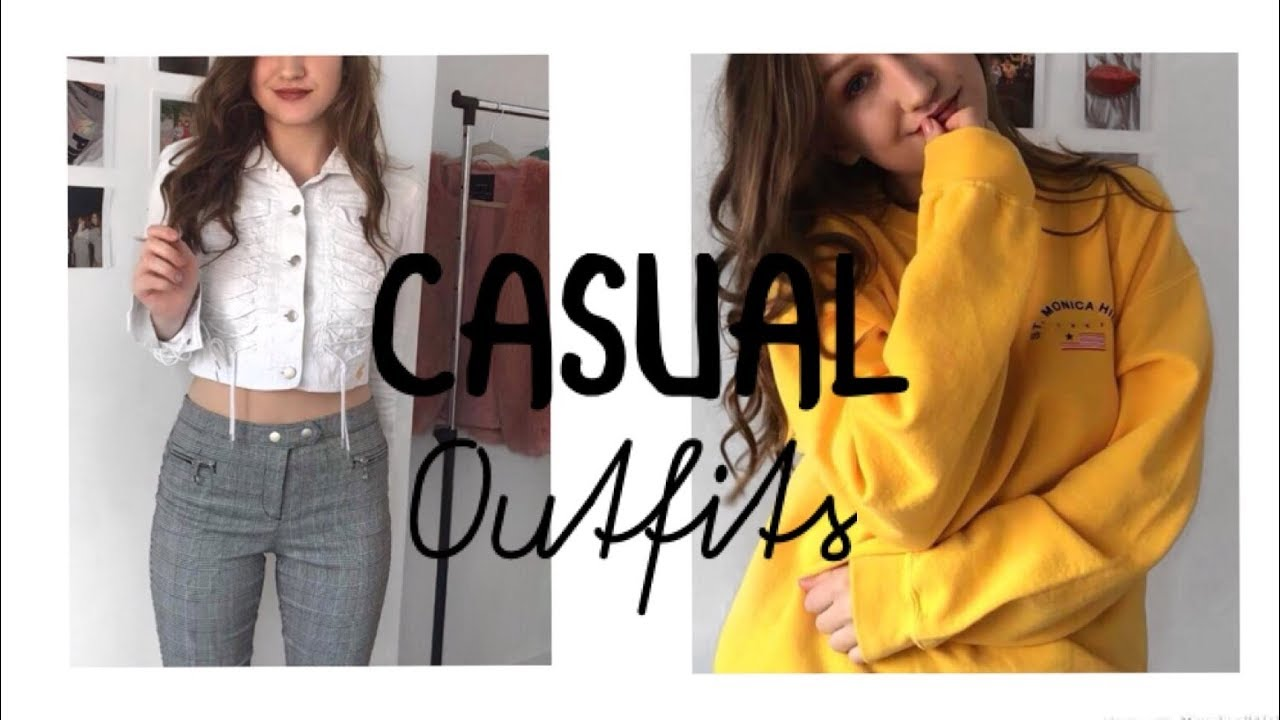 CASUAL OUTFIT IDEAS SPRING 2018