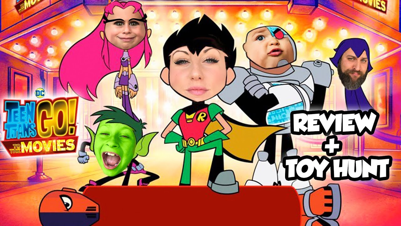 Download TEEN TITANS GO TO THE MOVIES Movie Review + Toy Hunt and Teen Titans Go! To The Movies Pretend Play