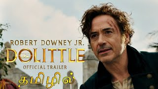 Dolittle Tamil Trailer_Full-HD With Subtitles