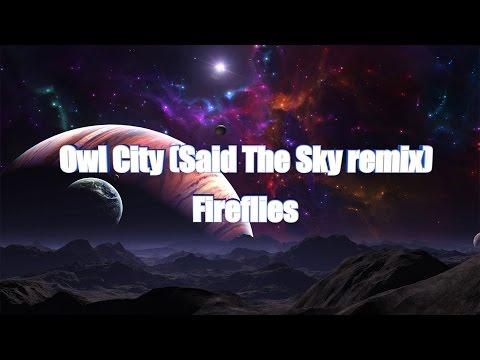 LYRICS | Owl City - Fireflies (Said The Sky remix)