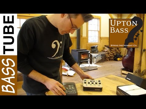 Upton Bass: Fishman Platinum Pro EQ Preamp For Double Bass First Look
