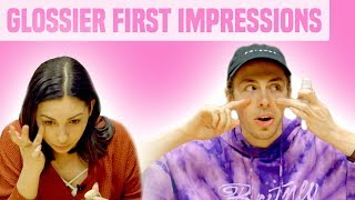 Liam McEwan Tries Glossier | Makeup Junkie vs. First Timer