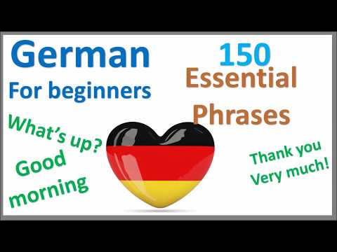 German Greetings, Introduce yourself and romantic expressions   Learn by Example
