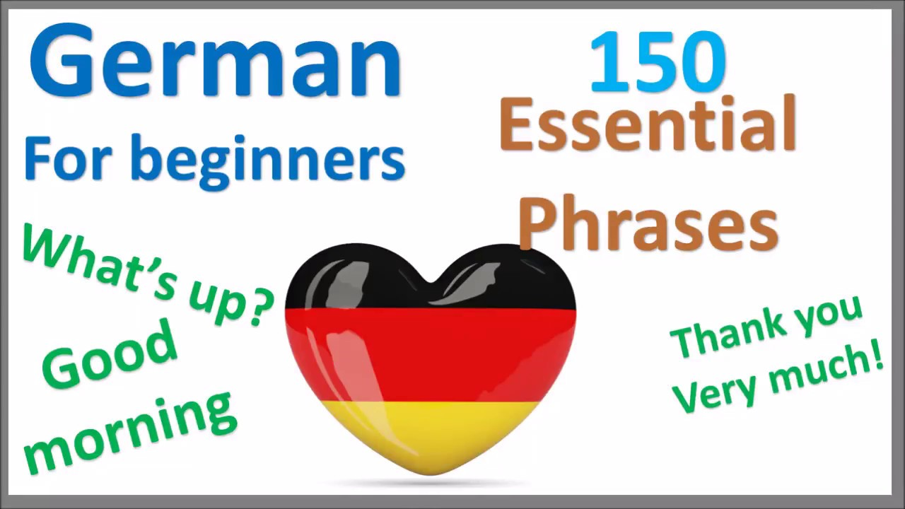 German Greetings Introduce Yourself And Romantic Expressions