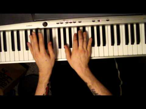 How to play the Theme from Cheers on Piano (tutorial)