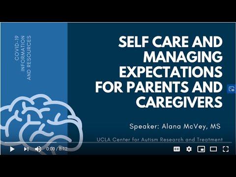Take care of Caregivers