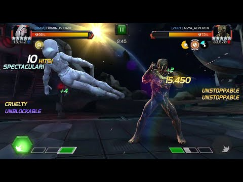 Alliance War S7 - A disgusting node 29 5/65 Killmonger fight - Marvel Contest of Champions