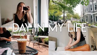 VLOG DAY IN MY LIFE | Back in Office, YouTube Work, Getting Fit