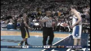 "Eric Maynor w/ ""The dagger!"" (VCU vs Duke Pt.2)"