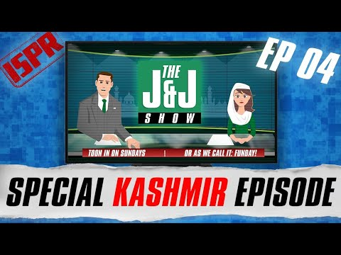 The J&J Show | J&J talk about Kashmir | Episode 4 - 31 May 2020 (Cartoon Talk Show)
