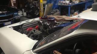 """511"""" Mopar stroker engine first firing"""