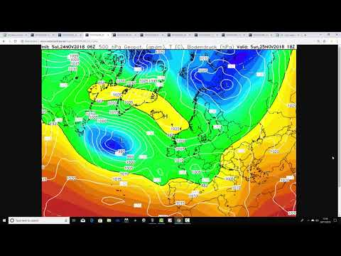 Weather Forecast For The Week Ahead: 24th November to 2nd December 2018