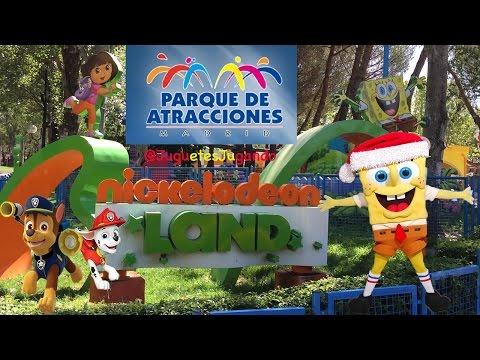 Nickelodeon Land Madrid Parque Atracciones Verano