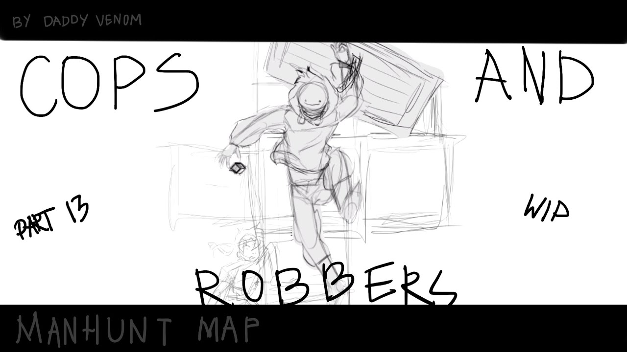 Cops And Robbers Manhunt map part (wip)