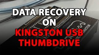 How to recover data from Kingston USB thumb drive