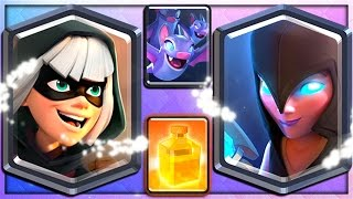 BANDIT, NIGHT WITCH, BATS & HEAL 4 NEW CLASH ROYALE CARDS!