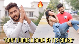 DON'T JUDGE A BOOK BY IT'S COVER    JATIN SHARMA