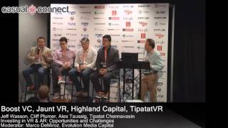 Investing in VR & AR  Opportunities and Challenges | Panel