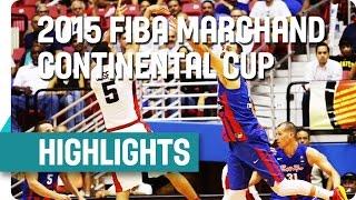 Canada v Puerto Rico - Highlights - 2015 FIBA Marchand Continental Cup