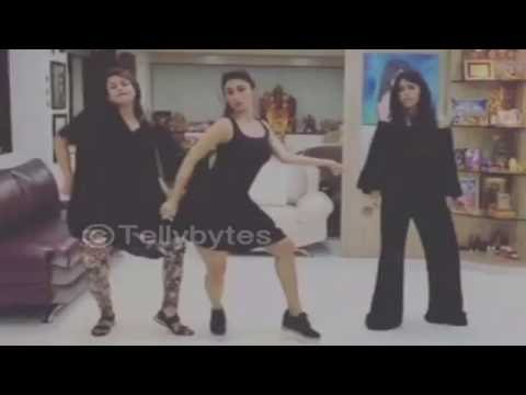 Mouni Roy, Divyanka Tripathi and Ekta Kapoor's HOT and SEXY DANCE