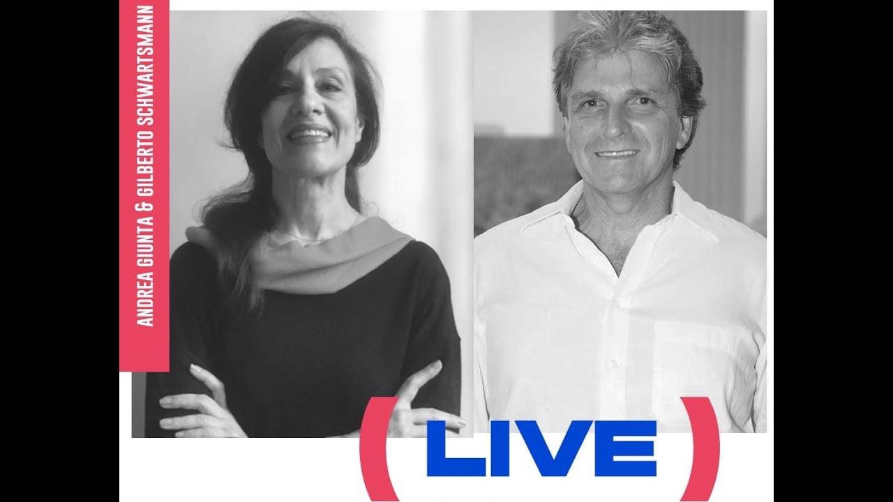 LIVE com Andrea Giunta e Gilberto Schwartsmann