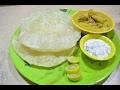 Chola Poori | Vegetable Kurma | சோளா பூரி| |Chole bhature | Breakfast Menu - 5