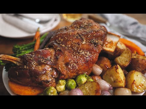 Roast Lamb Shoulder - Perfect Sunday Roast!
