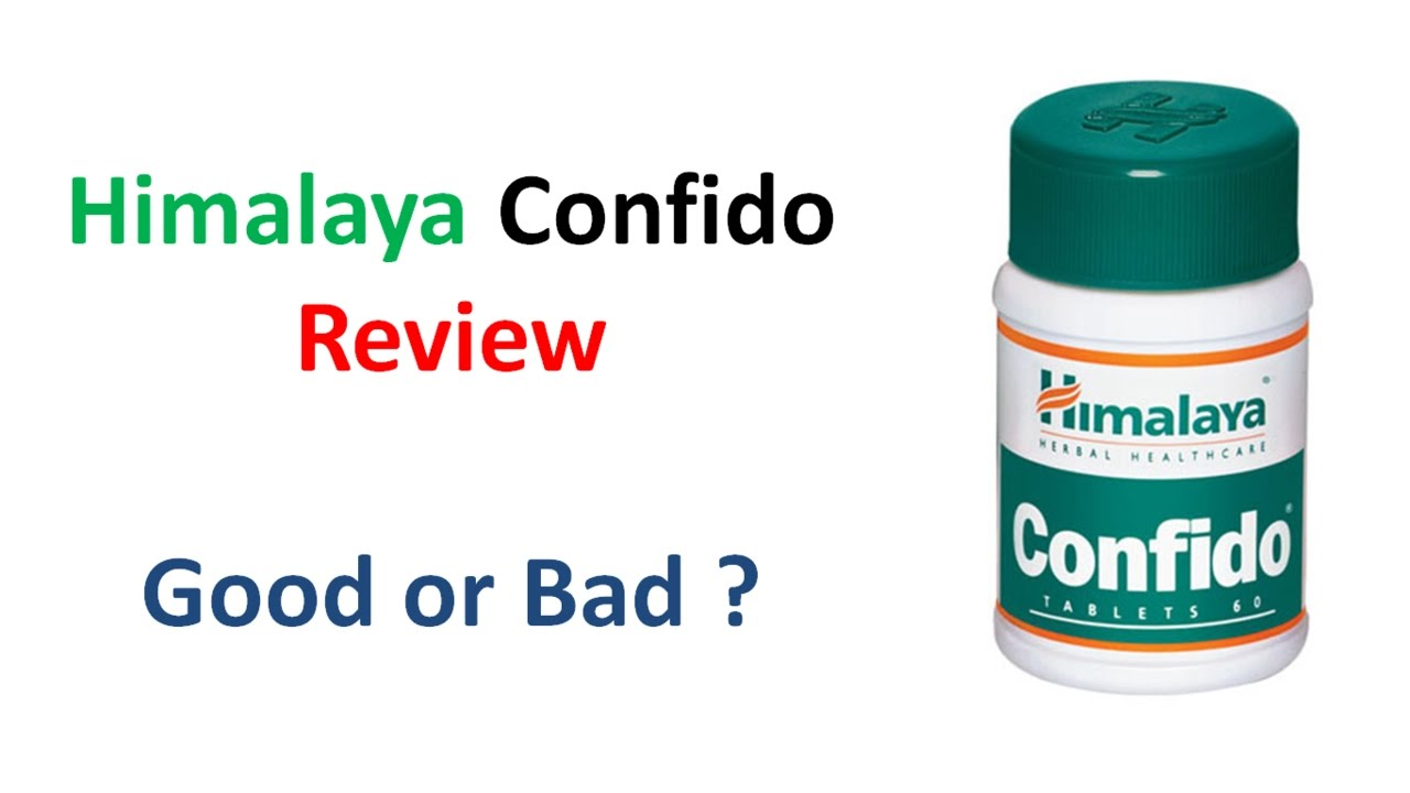Confido himalaya medicine for sexual health