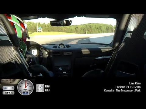 Porsche 911 GT2 RS Record Lap At Canadian Tire Motorsport Park