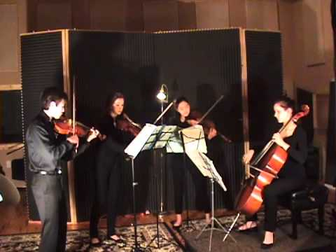 Jia Quartet plays Beethoven
