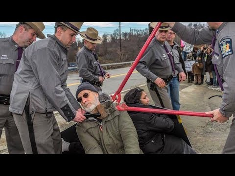 OscarNominated Actor James Cromwell Speaks Out Before Jail Time for Peaceful AntiFracking Protest