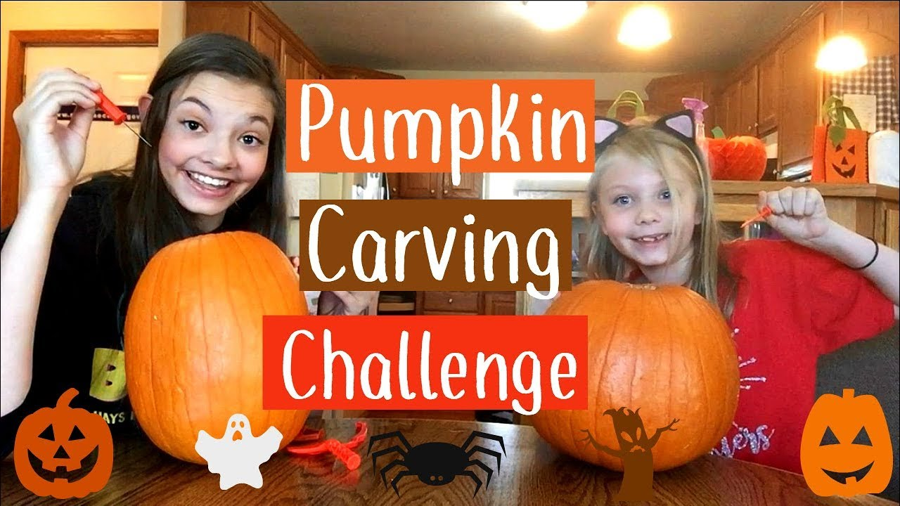 Pumpkin Carving Challenge Halloween  My Life Fast Forward