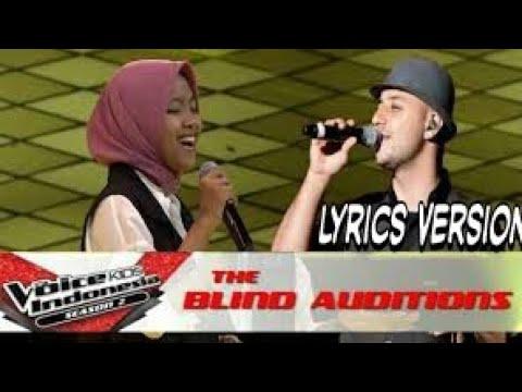 Sharla feat Maher Zain bershalawat  (Roqqota Aina)    Terbaik #VoiceKidIndonesia