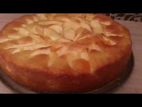 meilleur-gâteau-moelleux-aux-pommes-et-aux-amandes-à-tester-absolument-😍