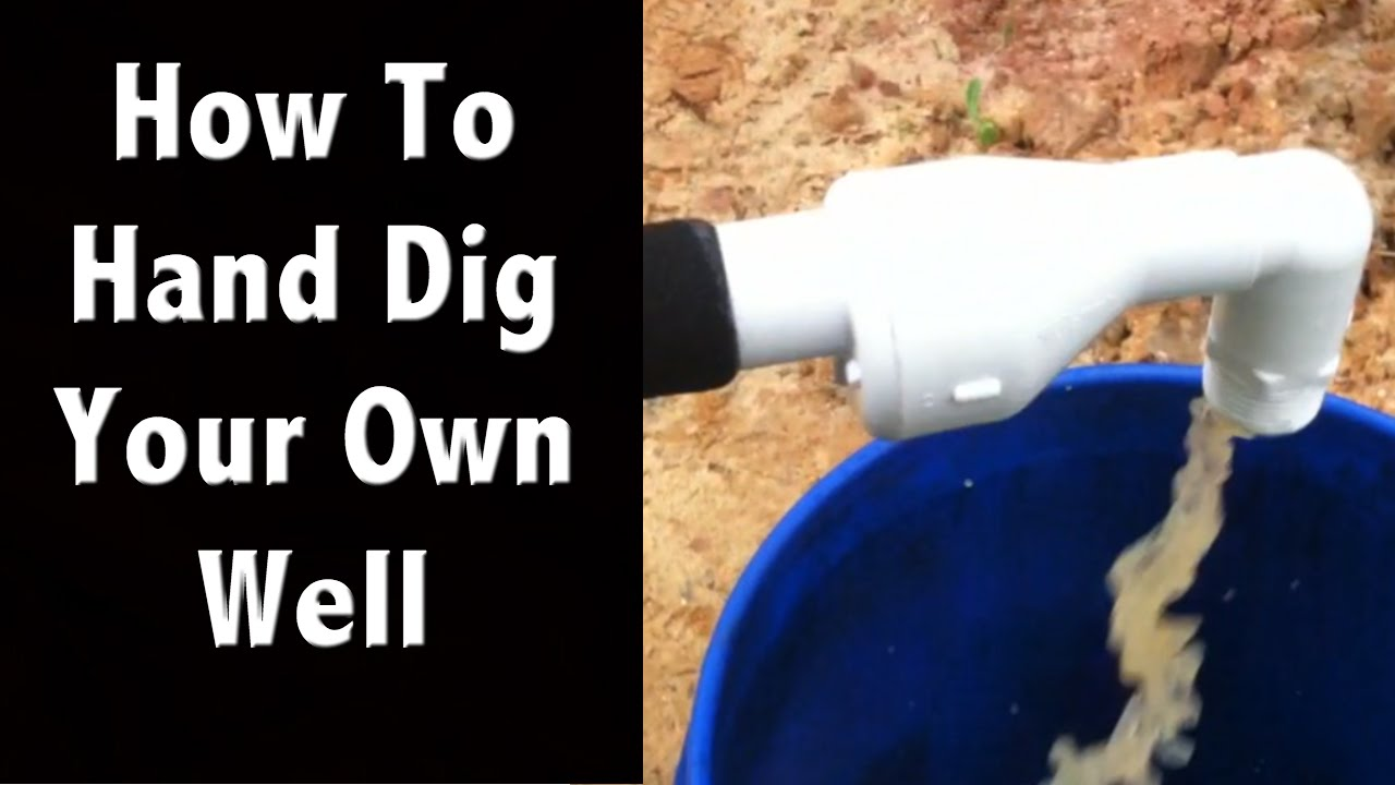 How to dig a well with your own hands 85