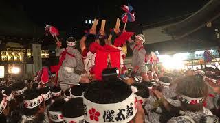大阪天神祭 2018年7月25日】 Osaka Tenjin Festival on July 25th 2018 ...