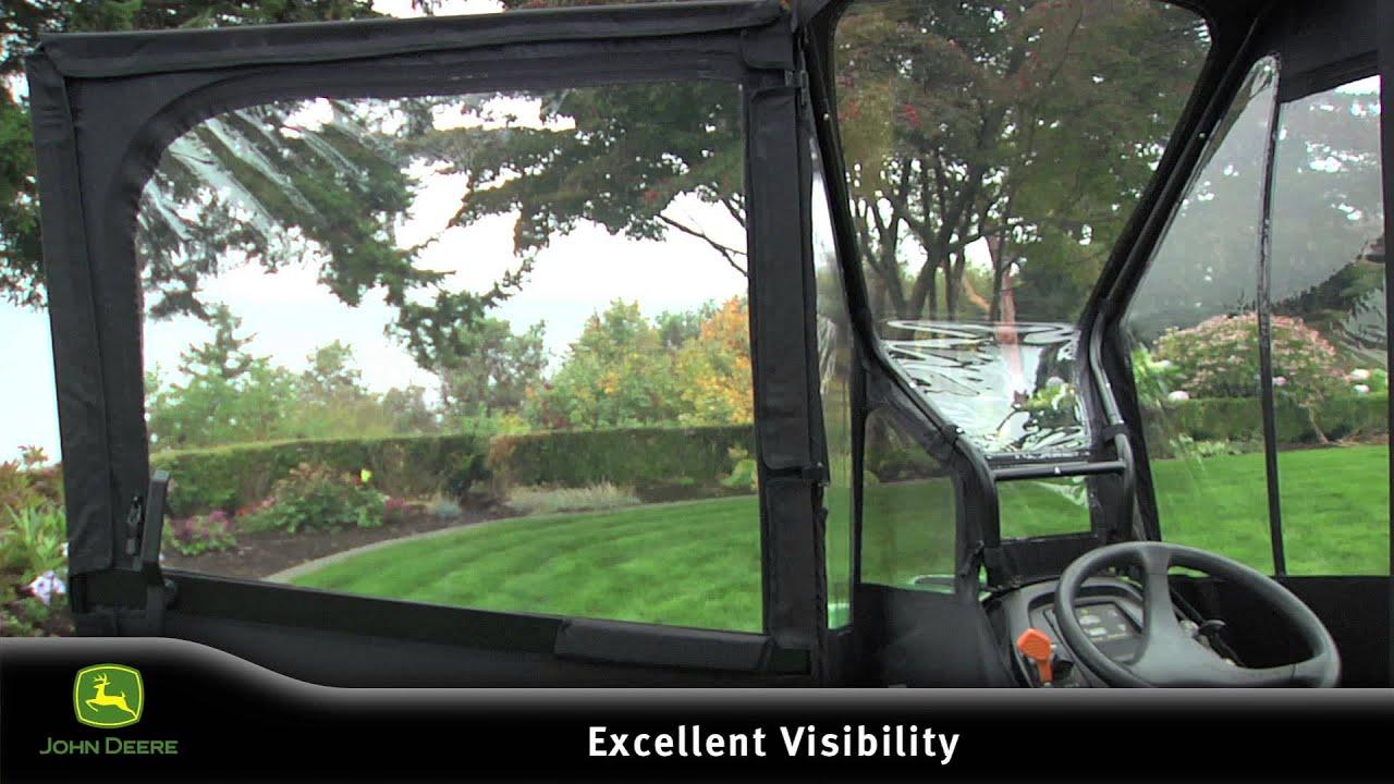 John Deere Custom Enclosure For The X Series Of Lawn