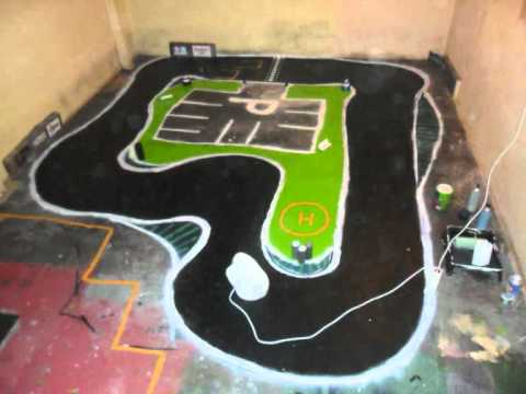 How To Make A Rc Drifting Track Youtube