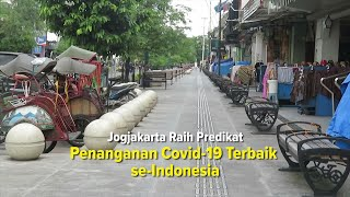 Yeeessss!!! Jogja Raih Predikat Penanganan Covid-19 Terbaik se-Indonesia