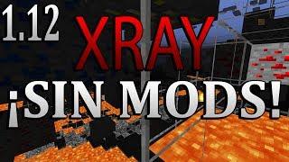 ¡CÓMO TENER XRAY SIN MODS! MINECRAFT 1.12 - 1080P