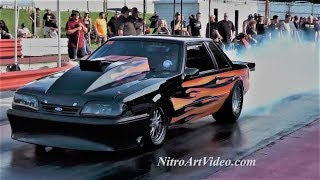 Knoxville Dragstrip July 2016 Racing Raw Action Part (1of4)
