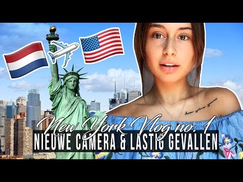 IK BEN IN NEW YORK! 🗽 New York vlog no. 1 ☆ SAAR
