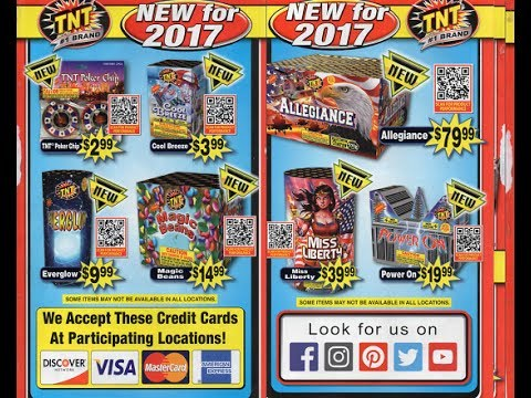 graphic relating to Tnt Fireworks Coupons Printable referred to as Tnt Fireworks California Catalog 2017 Sante Blog site