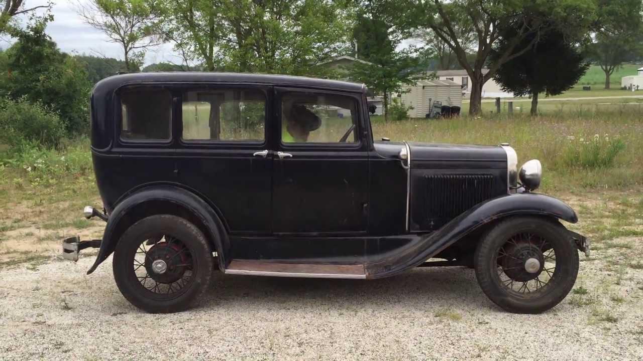 1930 Ford Model-A Murray body 4-door slant window | For Sale ...