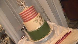 Making of Hochzeitstorte - Karottenkuchen, Schokocaramel & viel Marzipan - Weddingcake - Kuchenfee
