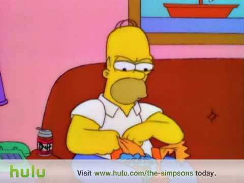 Chip Thieving Dogs-The Simpsons Clip