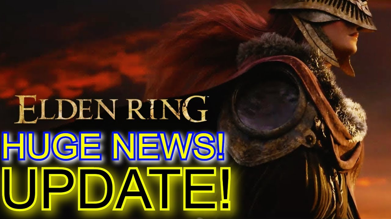 Huge [New] Elden Ring Update! (Great News & Some Bad News!) Development  Almost Finished! - YouTube