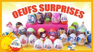 Oeufs surprises Kinder Princesses, cars, Disney, spiderman - Titounis - Touni Toys